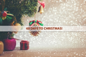 60 DAYS TO CHRISTMAS!